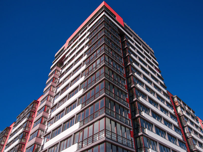 High Rise Apartment Building Requiring Fire Protection Services
